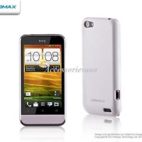 MOMAX Clear Touch Ultra Thin Case HTC One V Fre HD ScreenGuard - White