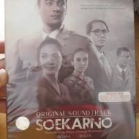 CD+DVD OST. SOEKARNO (ROSSA, AFGAN, UNGU, DLL)