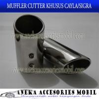 Muffler Cutter/Extention/Buntut Kanlpot/Ujung Knalpot Toyota Calya