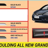 List body Warna Body mobil Nissan All New Grand Livina (2013-2015)