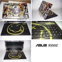 Garskin Laptop Full Body Asus X550z Motif Bisa Custom