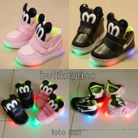 harga Sepatu Anak - Sepatu Mickey lampu Tokopedia.com
