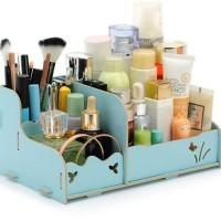 Rak Kosmetik Bahan Kayu / Tempat Make Up | Kutek / Rak Serbaguna Unik