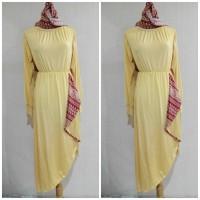 Setelan Baju Muslimah 8012 Yelaw Tunik Pasmina Tunik