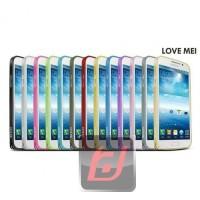 Jual Lovemei bumper metal case Samsung Galaxy Mega 58 Baru | Case Co