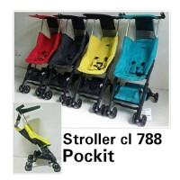 Jual stroller Cocolatte Pockit 788 Cover Murah