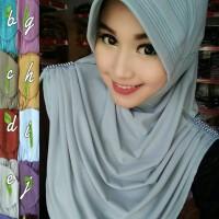 Jilbab Instan Rumpol Permata Cantik