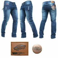 harga Vans Knee Ripped Skinny Jeans-celana Sobek2-biowash Scrub Tokopedia.com