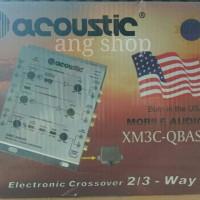 harga Car Crossover X Over Mobil 2 / 3 Way Acoustic XM3C-QBASS + Remote Tokopedia.com