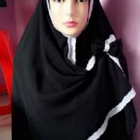 Khimar Renda / Jilbab Renda / Syari / Khimar / Syiria / Siria / Jilbab