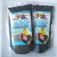 harga Probird Blueseed Pakan Burung Kenari, Blackthroat Finch Biji Blue seed Tokopedia.com