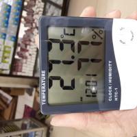 HTC - 1 Thermometer, Hygrometer & Clock, Humidty meter