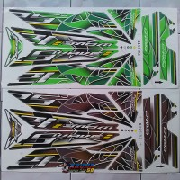 Striping/Sticker/Lis Motor Variasi Honda Supra 125i Wave