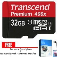 harga Transcend Micro SD / Memory Hp 32GB UHS-1 60MB/s  + Banjir Hadiah Tokopedia.com