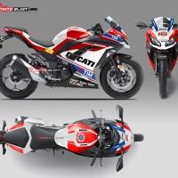 Kawasaki Ninja 250r fi - Ducati Desmo GP 16