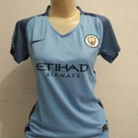 Jersey Manchester City Home Ladies 2016/2017 Grade ori Official