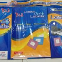 Label A4 Tom & Jerry TJ-L.01 / Lasee A4 Labels T&J