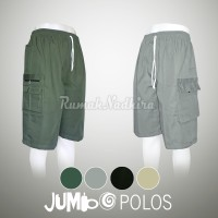 Jual Celana pendek Jumbo | Celana Cargo | Bigsize Murah