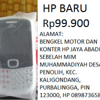 HP MURAH SMARTFREN SMART FREN HANDPHONE QWERTY 2 KARTU DUAL CDMA DUA