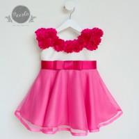 Baju Anak Perempuan Tutu Dress Anak Dress Bayi Baju Pesta Anak AB245