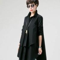 Ayako Fashion Blouse Laza - HO (Hitam)