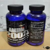 Eceran Amino 2002 Ultimate Nutrition Kapsul Tablet BCAA Acid Ecer