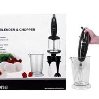 Jual Oxone Hand Blender & Chopper OX-292 / Blender Tangan, Serbaguna OX 292 Murah