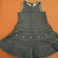Dress Jeans Form Pannete Anak Murah