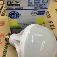Barang Murah - Bohlam/ Lampu LED Hemat Mitsuyama 15 W MS-7015TP