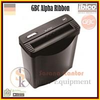 GBC Alpha Ribbon/Mesin Penghancur Kertas/Paper shredder/Potong kertas