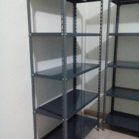 Rak Besi Siku Cocok Untuk Gudang/ Toko/ Kantor/ Online Shop