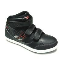 Sepatu sekolah (Homyped Sniper) black/white
