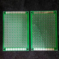 PCB Lubang Trough Hole Double Layer FR4 4X6