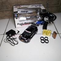 RC Mobil Drift Car Fast&Furious 4WD skala 1:24 body Metal/Besi