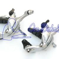 harga Rem Caliper Shimano Sora Br 3400. 700c Silver. Race-bike Tokopedia.com