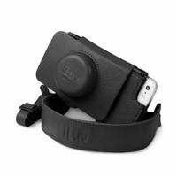 iLuv Camera Case Premium Leather Case for iPhone 5