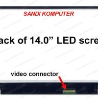 LCD LED Lenovo Ideapad U460 U460S B470 B470E P400 Series 14.0 Inch
