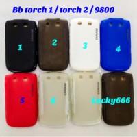 Soft case bb torch 1 / torch 2 silikon blackberry torch 9800 9810