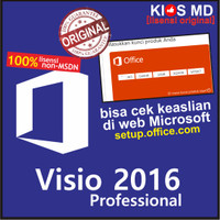 harga Lisensi Visio Professional 2016 Tokopedia.com