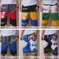 Jual celana pendek pinggang karet quiksilver untuk pantai surfing surf - 01 Murah