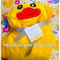 Yellow Duck Carters Blanket - Selimut Bayi Bebek Kuning