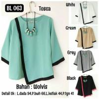 Blouse / Sabrina / Dress / Vest / Outer / Tunic wanita
