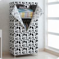 DIY Lemari Pakaian Rakit Furniture Minimalis Bisa Dicuci Tmpat Pakaian