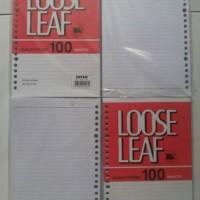 Loose Leaf Joyko A5 100 lembar / Isi Refill Kertas File