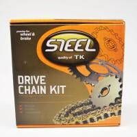 harga Gir / Gear Set Motor Tk Supra X-125 35/14 428-104l Steel Tokopedia.com