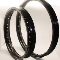 harga Velg Motor Set TK 185-16 & 160-19 WM 28H Alumunium Black Bright Tokopedia.com