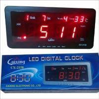 Jual Jam Digital Cx 2158 led merah bisa di meja dan dinding. Murah