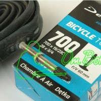 harga Ban Dalam Deli 700 X 19 - 23 C Presta . Sparepart Sepeda Fixie Tokopedia.com