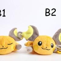 tsum tsum boneka pokemon raichu doll bag charm bagcharm