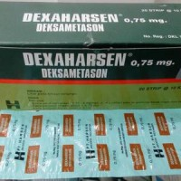 Obat alergi Dexamethasone tablet 0,75